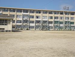 香椎第2中学校様 校舎耐震改修工事1