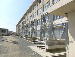 香椎第2中学校様 校舎耐震改修工事3
